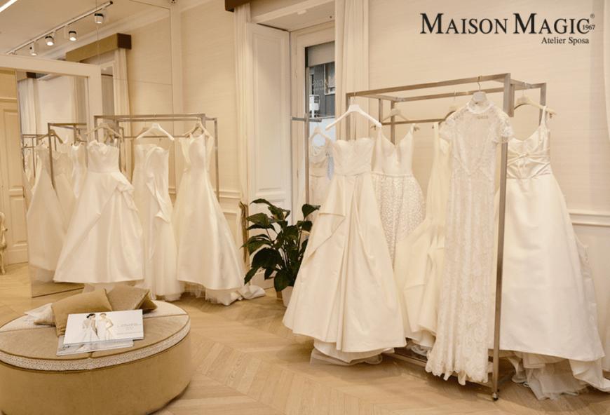 Maison Magic  quando la scelta dell abito da sposa diventa una favola c33d28f71558